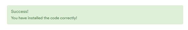 安装viglink代码成功